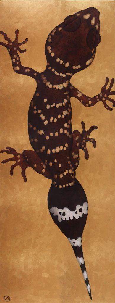 Gecko, original SOLD.