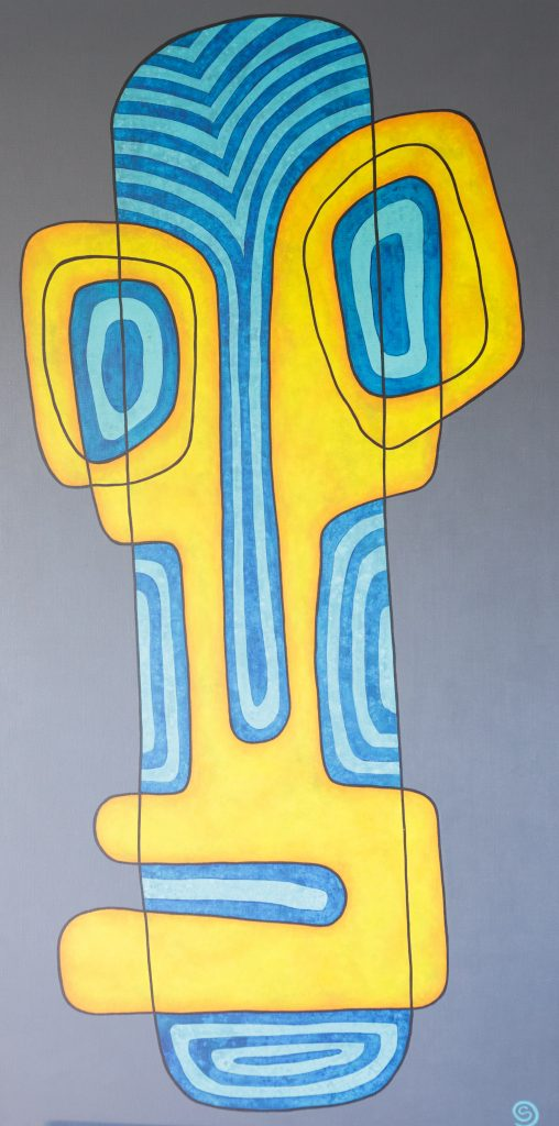 Bewildered, 152 x 76 cm, Acrylic on linen $1,600.